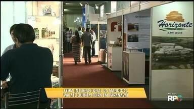 Paranavaí sedia a primeira Feira Internacional da Mandioca - Visitantes de vários países conferem as novidades tecnológicas voltadas à cultura. Confira a primeira, das duas reportagens que serão exibidas pelo Paraná TV sobre a raiz.
