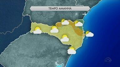 Quarta-feira (23) tem sol entre nuvens e chances de chuva ao longo do dia - Quarta-feira (23) tem sol entre nuvens e chances de chuva ao longo do dia