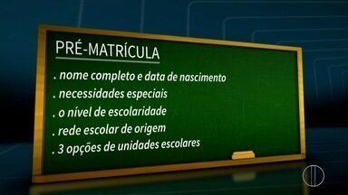 Pré-matrícula da rede municipal de ensino em Campos, RJ, vai até dia 30 - Matrícula pode ser feita nas unidades escolares ou até mesmo pelo site.