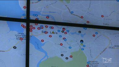 Está em teste o monitoramento via GPS dos ônibus em São Luís - Está em teste o monitoramento via GPS dos ônibus em São Luís