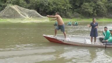 Agentes ambientais reclamam de pesca predatório no lago do Limão, no AM - Lago está dentro de Área de Preservação Ambiental (APP).