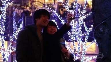 Show de luzes de led faz sucesso no Japão - Parques japoneses surpreendem os visitantes com a decoração