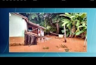 Chuva causa muitos estragos em Marilac - Confira a situação em outras cidades da região.