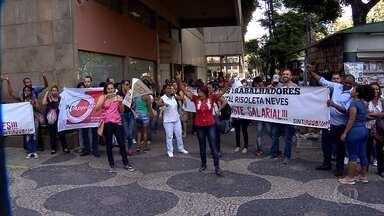 Audiência na Justiça do Trabalho debate greve dos funcionários do Hospital Risoleta Neves - Paralisação completou 15 dias. Categoria pede a reabertura de setores que estão sem atendimento e melhoria nos salários.