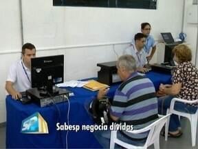 Sabesp realiza mutirão de renegociação - Ação ocorre no prédio do Procon, em Pres. Prudente.