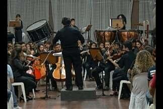 Alunos de projeto de formação musical apresentam concerto em Belém - Evento é parte do projeto Sons da Amazônia.