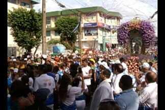 Em Icoaraci, o Círio de Nossa Senhora das Graças levou milhares de fiéis às ruas - Segundo a diretoria, mais de 120 mil pessoas percorreram os seis quilômetros de procissão ocorrida no domingo (27).