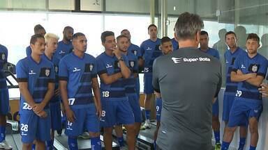 Treze é o primeiro time paraibano a iniciar a pré-temporada - Jogadores do Galo se apresentaram nesta segunda-feira no Presidente Vargas