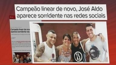 José Aldo volta a ser campeão linear dos penas do UFC - McGregor abre mão do cinturão até 65,7 kg.