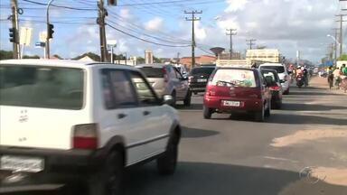 Obra de saneamento provoca mudança no trânsito do Benedito Bentes, em Maceió - Agentes da SMTT vão estar no local para orientar os motoristas.