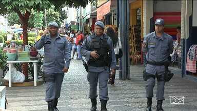 Polícia Militar monta esquema para coibir crimes no centro de Imperatriz - O maior objetivo é coibir furtos e assaltos as pessoas que estejam fazendo as compras de fim de ano.