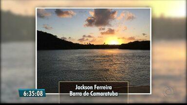 Veja imagens do amanhecer na Paraíba - Bom Dia Paraíba exibe imagens enviadas por telespectadores