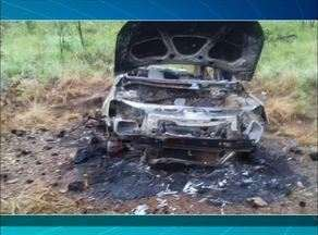 Irmão de ex-deputado estadual continua desaparecido; carro foi encontrado queimado - Irmão de ex-deputado estadual continua desaparecido; carro foi encontrado queimado