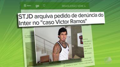 STJD arquiva processo que investigava suposta fraude na contratação de Victor Ramos - Zagueiro não vai enfrentar o Palmeiras em jogo decisivo no próximo domingo (11), pois está suspenso por receber o terceiro cartão amarelo.