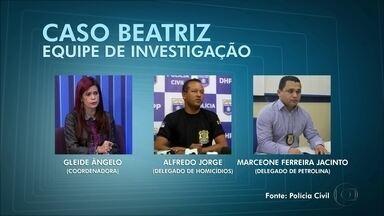 Delegada Gleide Ângelo vai assumir caso Beatriz - Informação foi divulgada nesta sexta-feira (9)