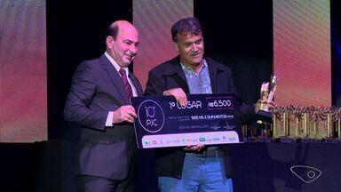 Jornalistas da Rede Gazeta são premiados em prêmio de jornalismo cooperativista no ES - Cinegrafistas, produtora e repórteres foram premiados.