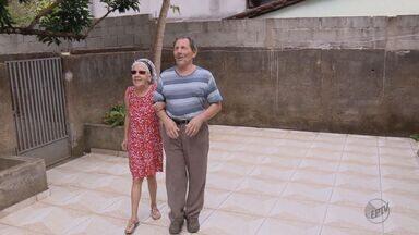 Casal de cegos somam histórias de superação há mais de 50 anos em Campanha, MG - Segundo Ary e Nilza, muitos diziam que o relacionamento não daria certo.
