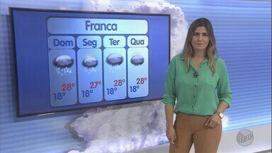 Previsão de pancadas de chuva em Ribeirão Preto neste domingo (11) - Cidade amanhece com temperatura de 22ºC.