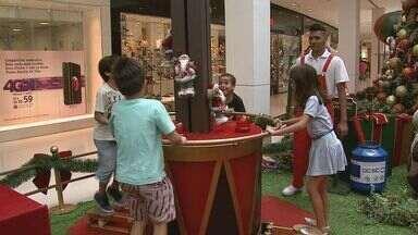 Shoppings investem em atrações culturais para alavancar as vendas em Ribeirão Preto - Decoração é um dos atrativos para incentivar as compras.