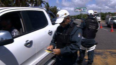 BPRv inicia a Operação Viagens de Férias em Paz nas estradas de Sergipe - BPRv inicia a Operação Viagens de Férias em Paz nas estradas de Sergipe.