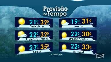 Confia a previsão do tempo para esta terça-feira (13) no Maranhão - Confia a previsão do tempo para esta terça-feira (13) no Maranhão