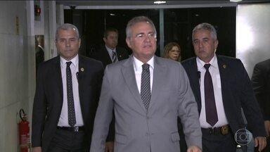 Renan Calheiros é denunciado pela primeira vez na Lava Jato - A Procuradoria-Geral da República também pediu que ele perca o mandato. Agora o Supremo Tribunal Federal vai decidir se o presidente do Senado vira réu de novo.