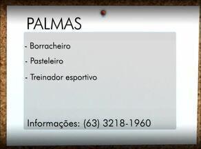 Veja vagas de emprego para Palmas, Porto Nacional e Paraíso do Tocantins - Veja vagas de emprego para Palmas, Porto Nacional e Paraíso do Tocantins