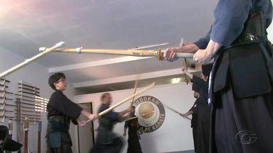 Competidotes de Kendô disputam o Norte/ Nordeste - Instrutor do esporte, Renato Simões, fala sobre o evento.