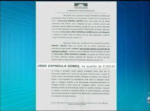 Delegado suspeito de receber dinheiro para investigar crime é ouvido em Araguaína - Delegado suspeito de receber dinheiro para investigar crime é ouvido em Araguaína