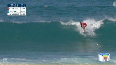 Última etapa do mundial de surfe começou em Pipeline - Era para ter começado dia 8.