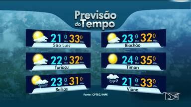 Veja como fica a previsão do tempo para esta quinta-feira (15) no Maranhão - Veja como fica a previsão do tempo para esta quinta-feira (15) no Maranhão.