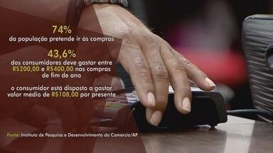 Amapaense vai gostar pouco mais de R$ 100 por presente neste natal - Em 2015 a média era de R$ 170.
