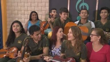'Paneiro' entrega sala de música a escola campeão do 'Cante o que Vier' - Escola Marcantonio Vilaça I, venceu o game musical no último sábado (17).