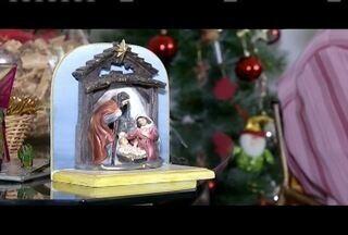 Artigos religiosos também são uma opção de presente para o Natal - Essa época pra muita gente é um momento de reflexão e de buscar a espiritualidade.
