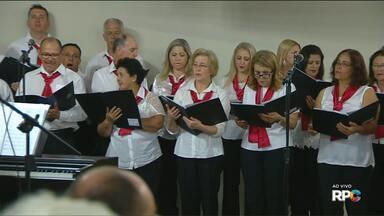 Igreja celebra missa com cantata especial de Natal - A celebração foi na Paróquia Imaculada Conceição, em Curitiba.