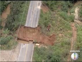 ALM-806 em Ribeirão das Neves foi liberada para o tráfego de veículos - Esse mês três pessoas morreram em um acidente no local depois que uma cratera se abriu.