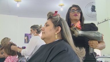 Festas de fim de ano movimentam salões de beleza em Manaus - Procura para Natal e Ano Novo é intensa.