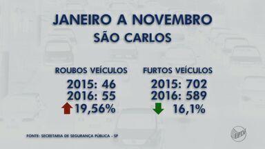 Roubos de veículos crescem na região em relação ao mesmo período do último ano - Capitão fala sobre crescimento de roubo de veículos em cidades da região