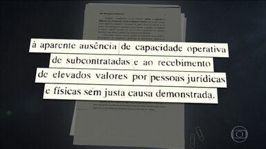 PF faz buscas em empresas contratadas pela chapa Dilma-Temer - A Polícia Federal fez buscas em empresas contratadas pela chapa Dilma-Temer na eleição presidencial de 2014 como parte da ação que investiga se houve crime eleitoral durante a campanha.