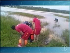 Militares localizam corpo de homem que se afogou em São João da Lagoa - Vítima de 34 anos foi localizada pelo Corpo de Bombeiros por volta das 8h.