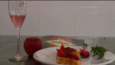 Aprenda a preparar uma deliciosa Geleia de Espumante - Quem ensina é o chefe de cozinha Normandio Guimarães.