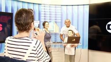 Cearense ganha presente de Natal especial e Se Liga VM acompanha tudo - Rebeca Oliveira pediu um dia especial com a família.