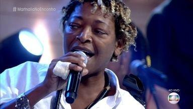 Mart´nália lança CD '+ Misturado' - Cantora canta música inédita no 'Encontro'