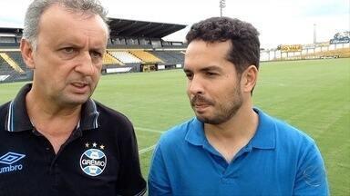 Direto da Copinha: Veja como é o trabalho do olheiro do Grêmio - Direto da Copinha: Veja como é o trabalho do olheiro do Grêmio