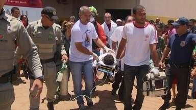 Policial atira em briga de trânsito e atinge criança de 6 anos - Foi preso em Goiânia o policial civil que atirou em uma rodovia movimentada. Um menino de 6 anos foi baleado.