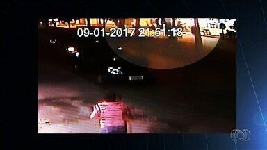 Quatro suspeitos fizeram arrastão em lanchonete de Aparecida de Goiânia - Moradores da região relatam que sentem medo de viver no local por causa da violência.