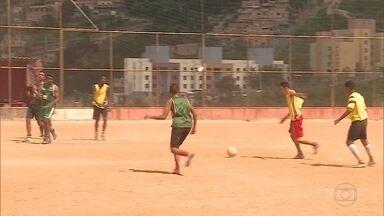 Primeira edição da Taça das Favelas em Belo Horizonte começa neste mês - Os jogadores da última equipe que faltava foram escolhidos hoje.