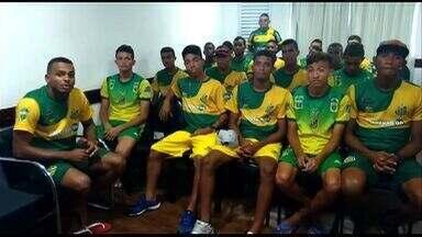 Jogadores do Estanciano pedem apoio em busca de vaga inédita na Copinha - Jogadores do Estanciano pedem apoio em busca de vaga inédita na Copinha
