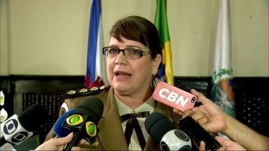 Tatiana Mendes é a nova chefe-geral da Guarda Municipal do Rio - Depois da posse, o prefeito Marcelo Crivella comentou a troca de chefe da Cet- Rio