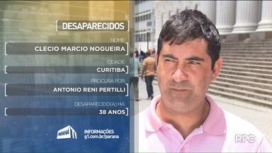 Veja o depoimento de 2 pessoas que procuram pelos pais - O quadro Desaparecidos está de férias, mas os depoimentos que já foram gravados continuam a ser exibidos no Paraná TV.